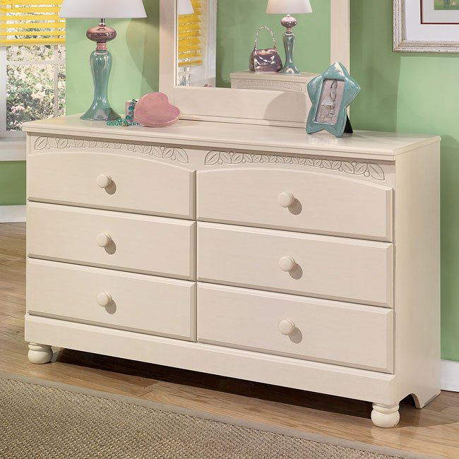 Cottage retreat dresser by signature design by ashley 2 reviews furniturepick Cottage retreat collection bedroom furniture