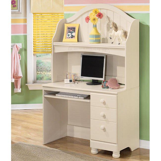 Cottage Retreat Desk with Hutch