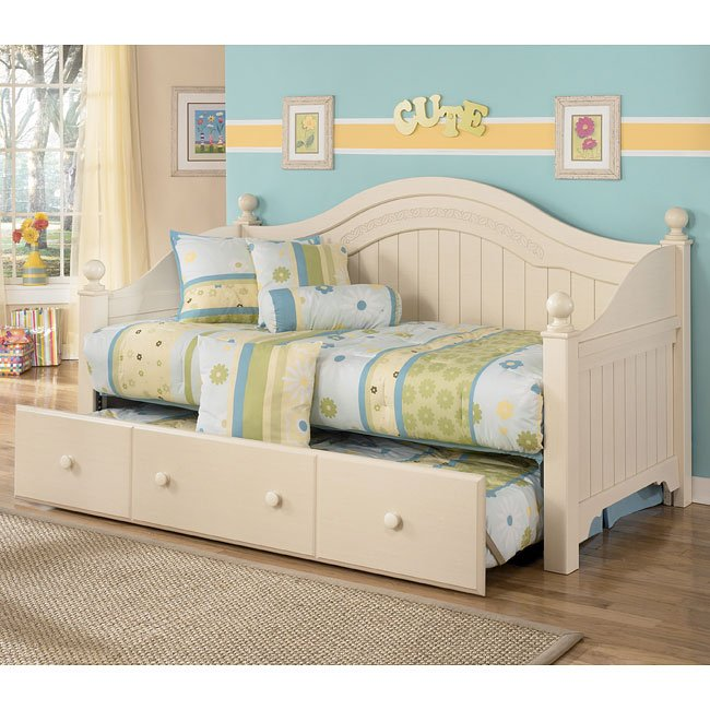 Cottage retreat day bed bedroom set by signature design by - Cottage retreat ii bedroom furniture ...