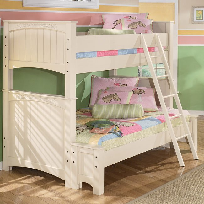 Cottage Retreat Twin over Full Bunk Bed by Signature ...