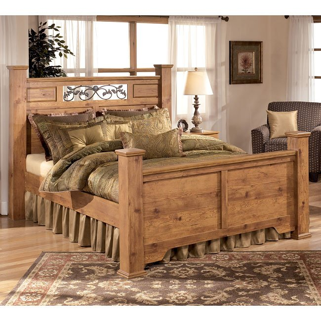 Captivating Bittersweet Poster Bed (Queen) By Signature Design By Ashley
