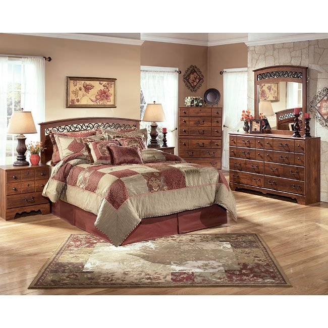 Timberline Queen/ Full Headboard Bedroom Set Signature