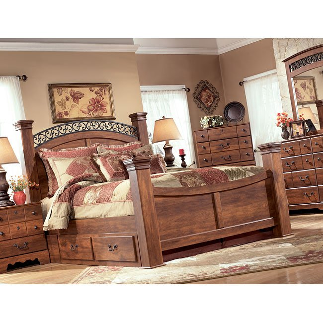 Broyhill Bedroom Furniture Reviews Diy Bedroom Art Canopy Bedroom Sets King Size Navy And Black Bedroom: Timberline Poster Bedroom Set By Signature Design By