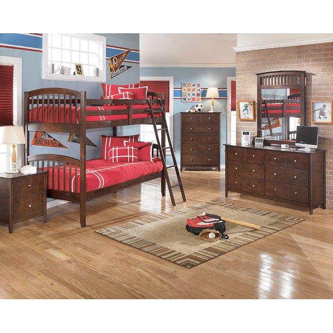 Nico Bunk Bed Bedroom Set Signature Design By Ashley Furniture