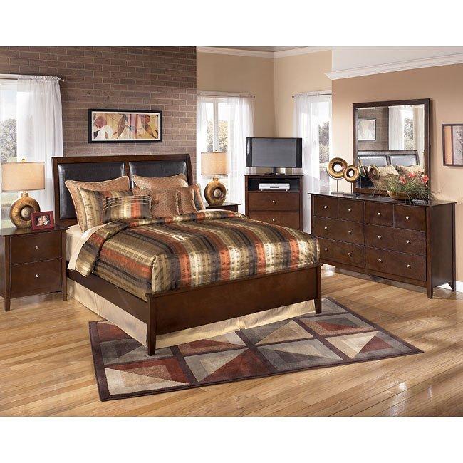 Nico Upholstered Bedroom Set Signature Design By Ashley Furniture Furniturepick