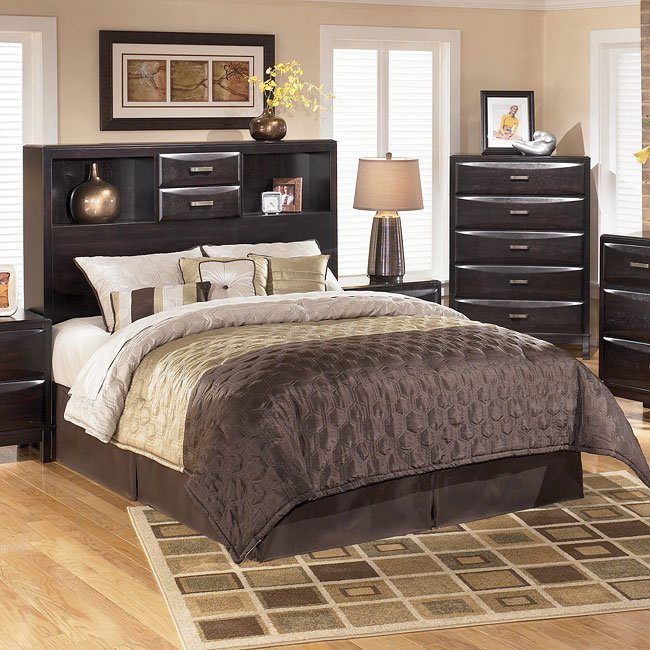 Kira Bookcase Bed Headboard Only Queen By Signature Design Ashley