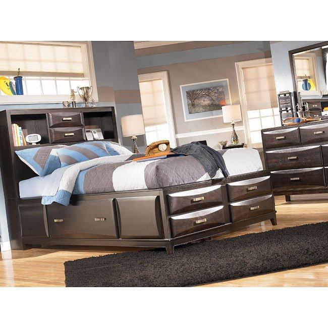 Ashley Furniture Kira Full Storage Bed: Kira Youth Storage Bed By Signature Design By Ashley, 1
