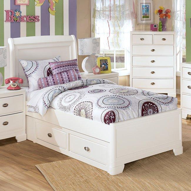 Alyn Platform Bed With Storage Signature Design By Ashley Furniture Furniturepick