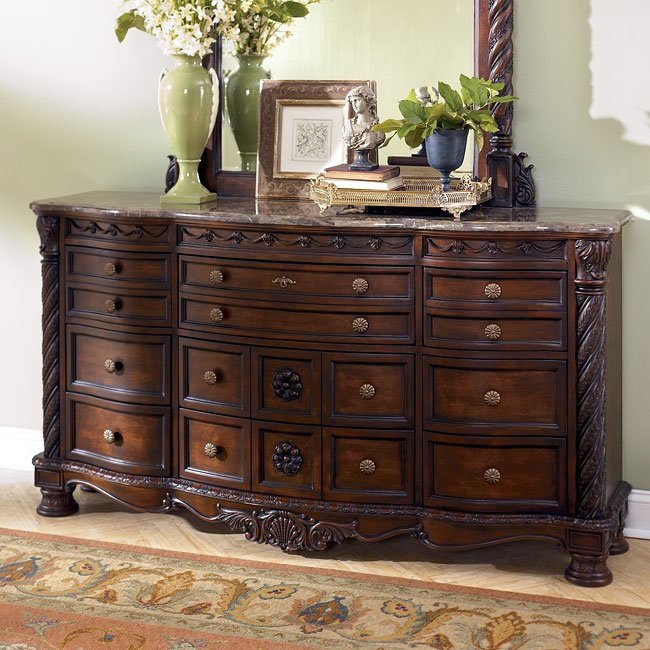 north shore dresser signature design by ashley furniture furniturepick. Black Bedroom Furniture Sets. Home Design Ideas