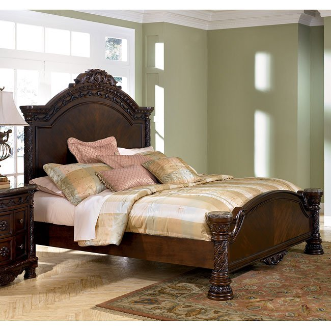 North S Panel Bed King