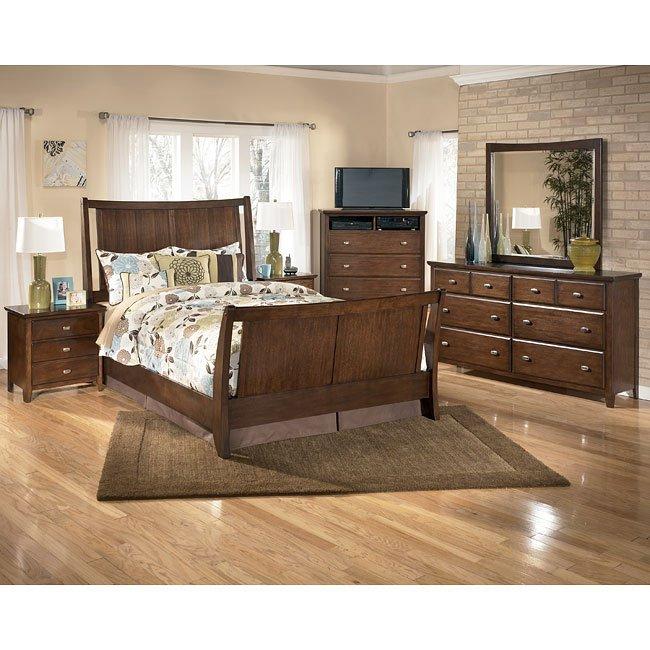 freemont sleigh bedroom set signature designashley