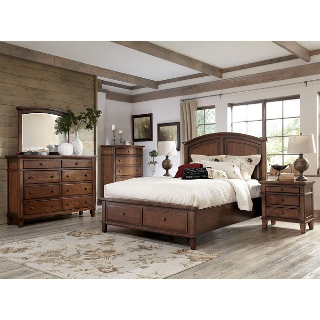 Burkesville Bedroom Set W Storage Bed By Signature Design Ashley Furniturepick