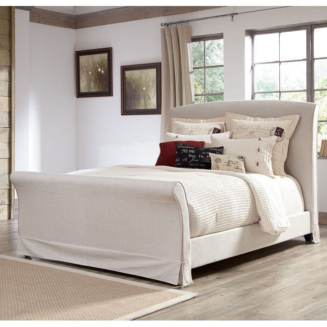 Burkesville Bedroom Set W/ Upholstered Bed By Signature