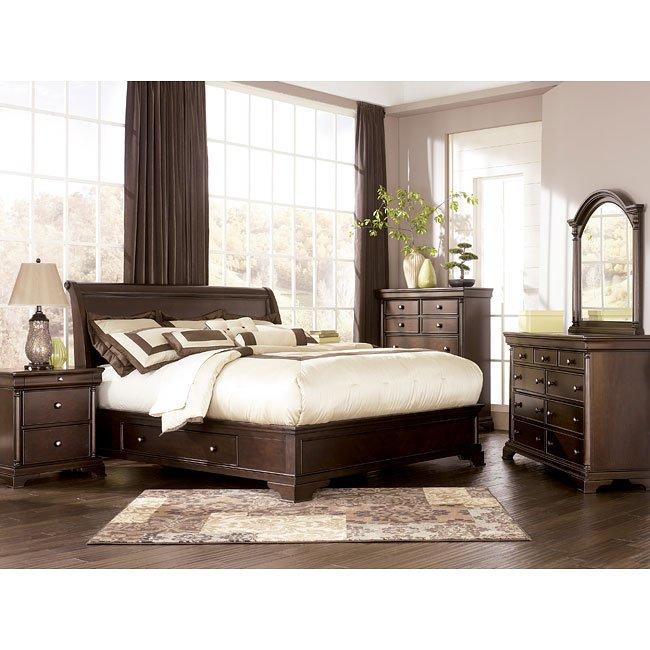 Leighton Sleigh Bedroom Set By Millennium Furniturepick