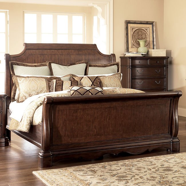 Camilla Sleigh Bed Signature Design By Ashley Furniture