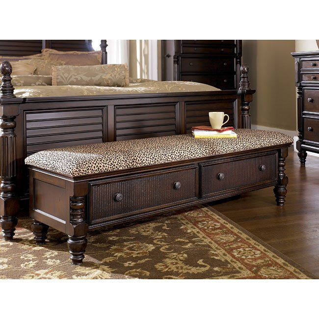 Charmant Key Town Bedroom Bench