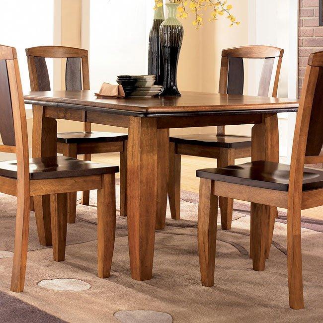Ashley Furniture Porter D697 35 Rectangular Extension: Urbandale Rectangular Dining Room Set By Signature Design
