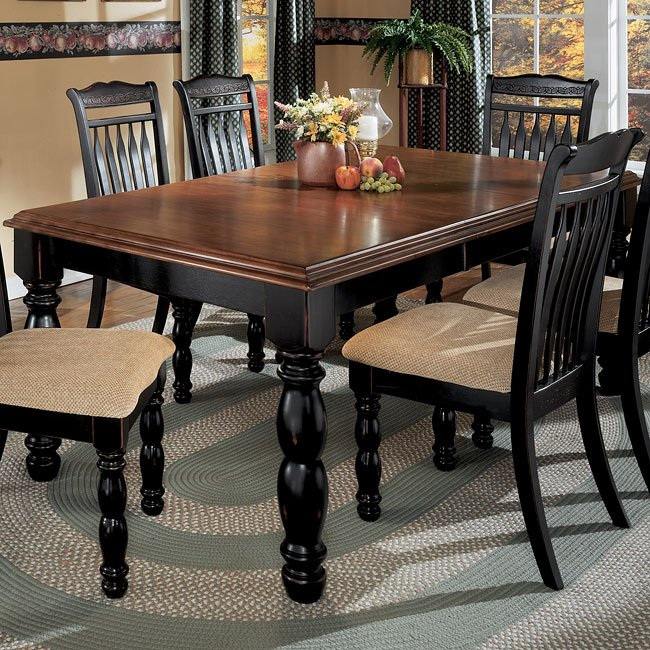 Cedar Heights Extension Dining Room Set By Signature