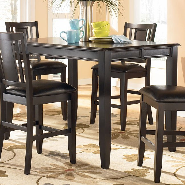 Carlyle Counter Height Dining Room Set By Signature Design