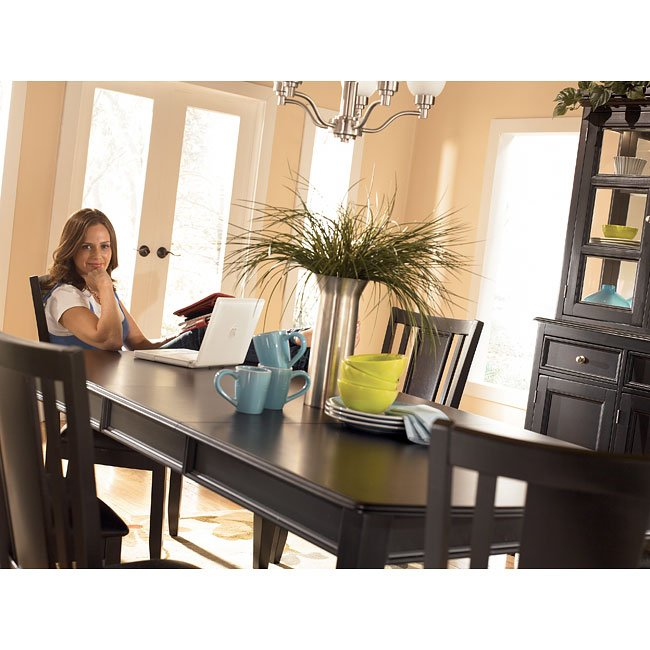 Carlyle Dining Room Set: Carlyl Extension Dining Room Set Signature Design By