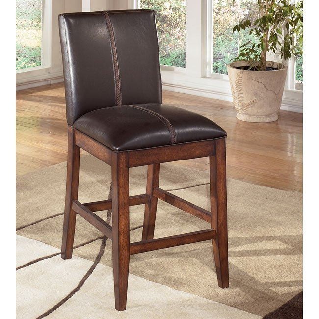 Larchmont 24 Inch Upholstered Bar Stool Set Of 2