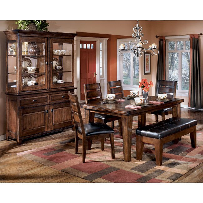 Larchmont Rectangular Dining Room Set Signature Design By