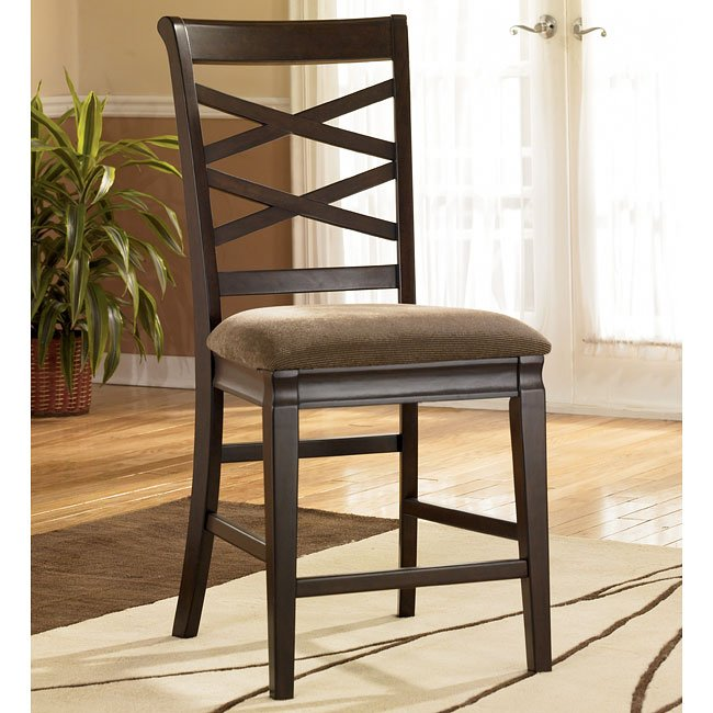 Hayley 24 Inch Bar Stool Set Of 2 Signature Design By Ashley