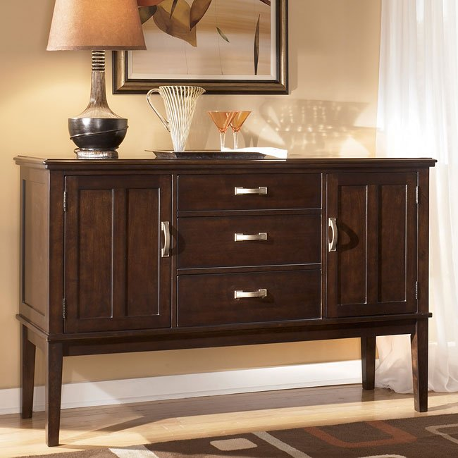 Pecan Wood Furniture Dining Room: Logan Dining Room Set By Signature Design By Ashley
