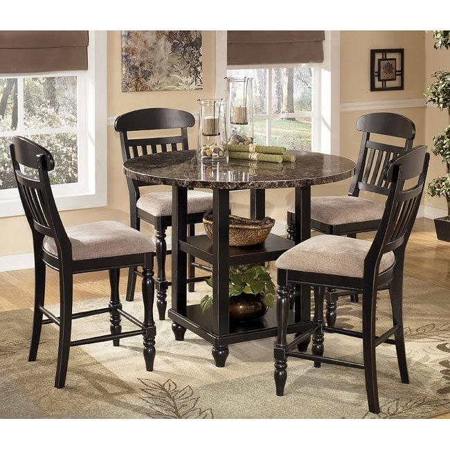Dining Room Set Counter Height: Bachmon Counter Height Dining Room Set By Signature Design