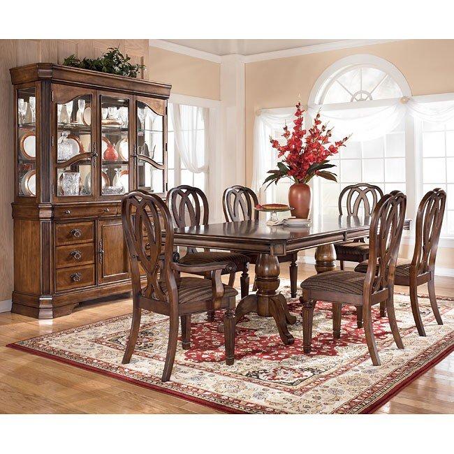 Hamlyn Pedestal Dining Room Set By Signature Design Ashley 1 Reviews