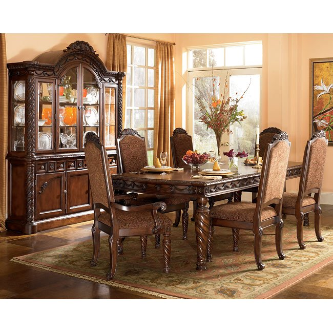 Ashleys Furiture: North Shore Rectangular Dining Room Set Signature Design