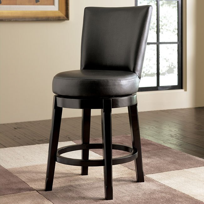 Emory 24 Inch Bar Stool W Swivel
