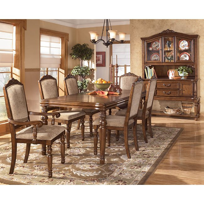 Elegant Dining Room Sets: San Martin Formal Dining Room Set By Signature Design By