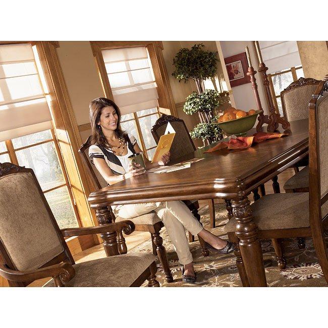 Signature Design By Ashley Besteneer Formal Dining Room: San Martin Formal Dining Room Set Signature Design By