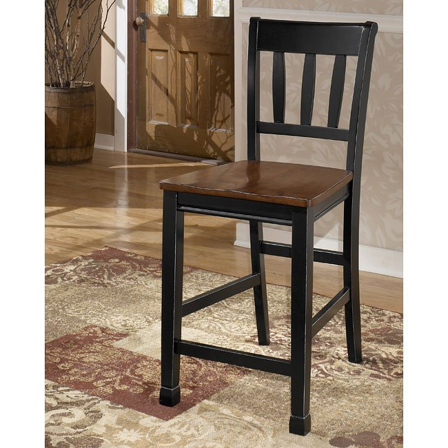 Discontinued Ashley Furniture: Owingsville Counter Height Dining Room Set By Signature