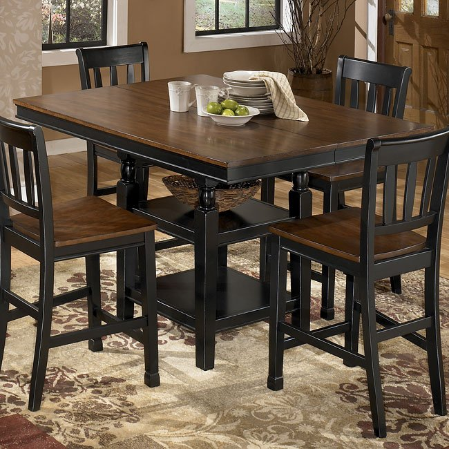 Owingsville Square Counter Height Table Signature Design