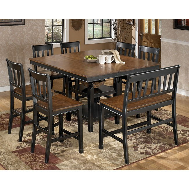Owingsville Counter Height Dining Room Set Signature Design By Ashley Furniturepick