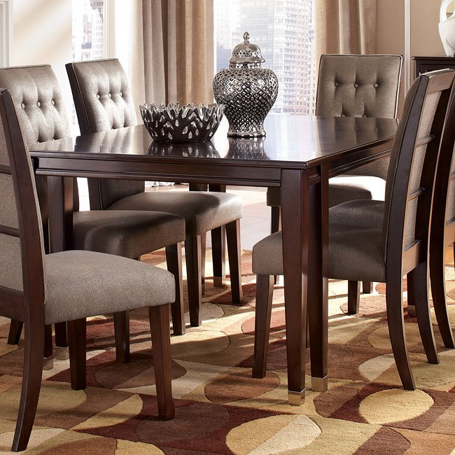 Larimer Dining Room Set W/ Extension Table Signature