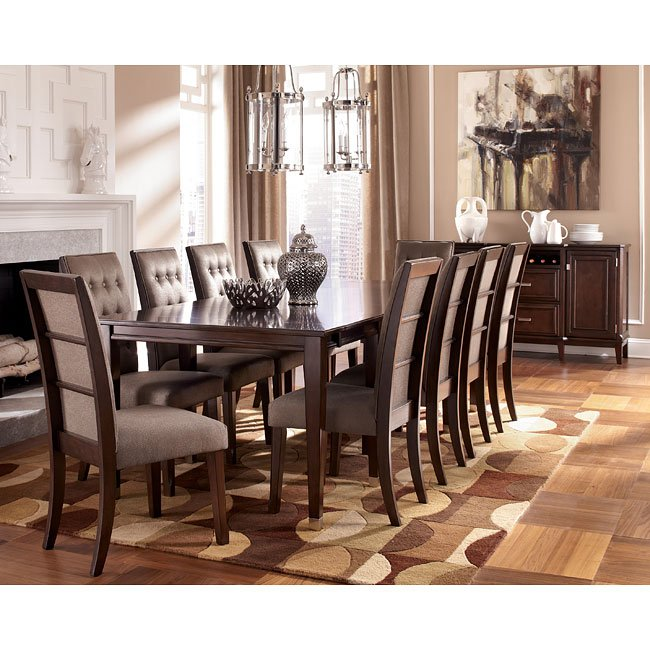 Larimer Dining Room Set W Extension Table