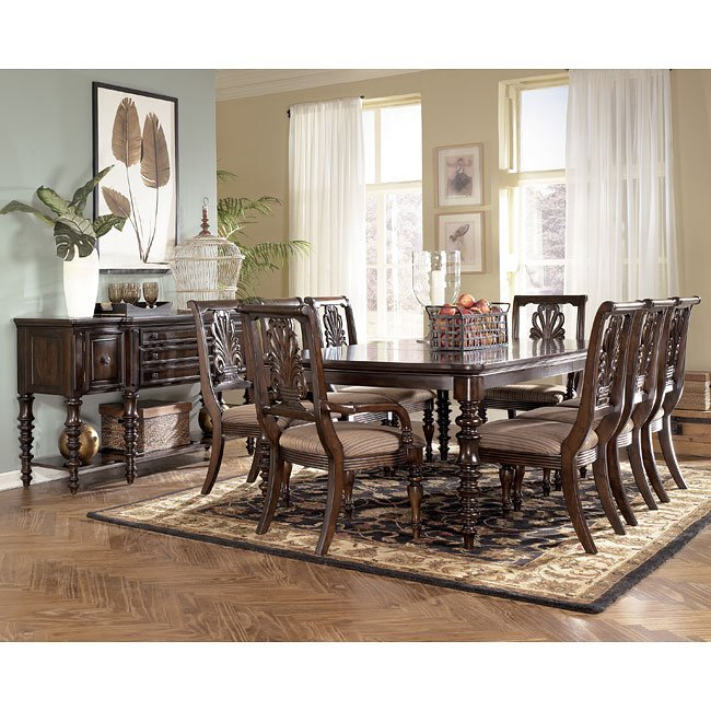 Key Town Formal Dining Room Set Signature Design By Ashley