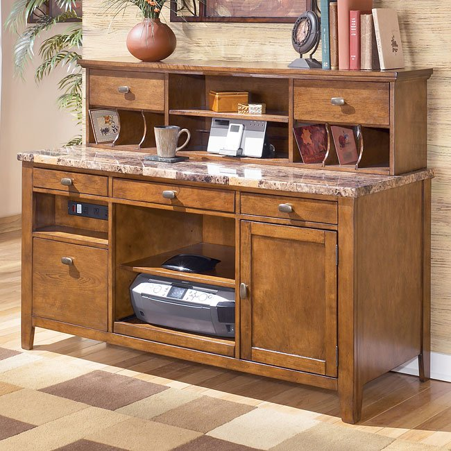 Theo Home Office Set W Leg Desk By Signature Design By