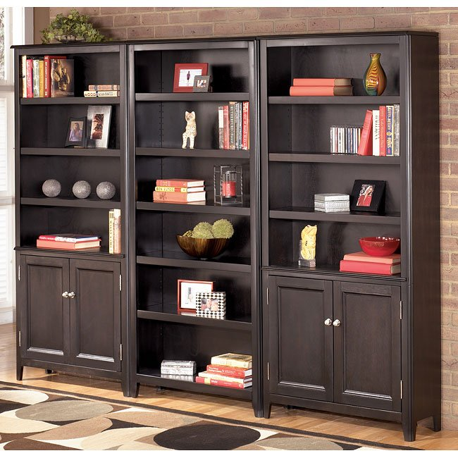 Carlyle Large Door Bookcase