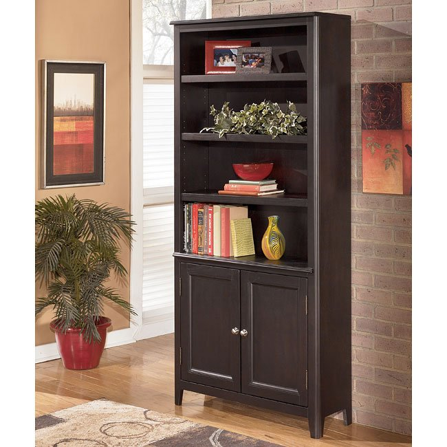 Carlyle Large Door Bookcase By Signature Design By Ashley