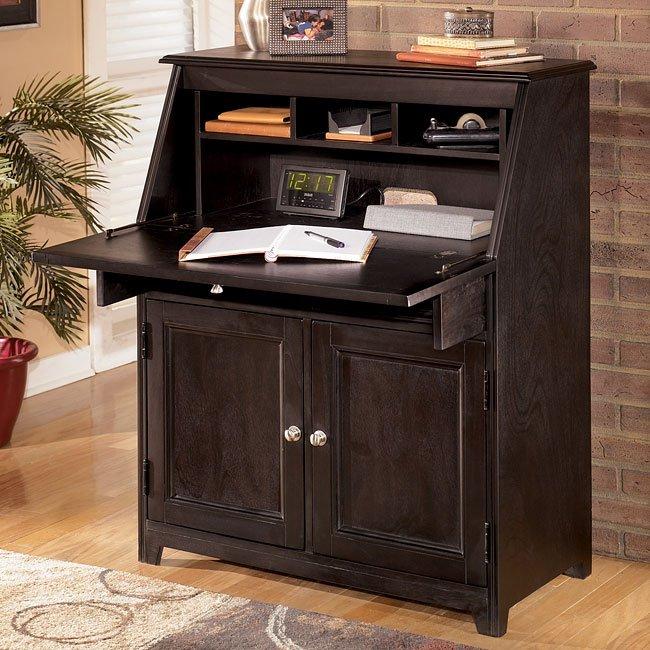 Carlyle Drop Front Secretary By Signature Design Ashley Furniturepick