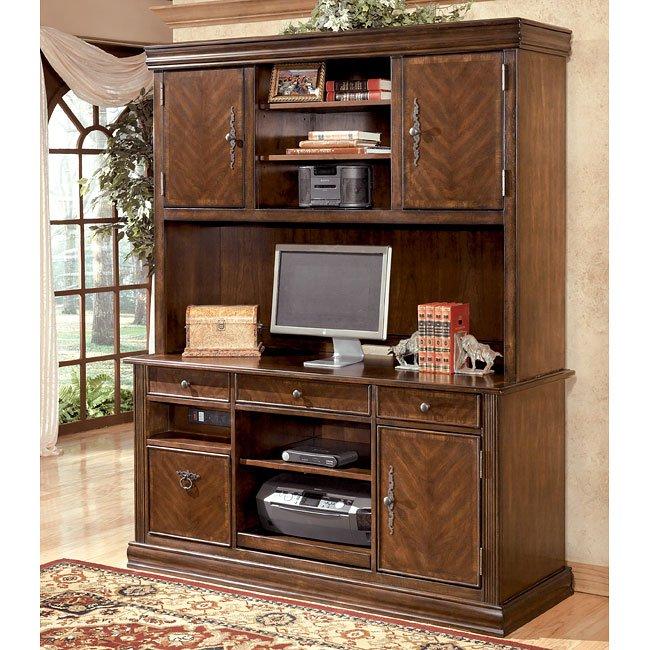 Ashley Furniture Glosco Kitchen Hutch: Hamlyn Credenza W/ Large Hutch Signature Design By Ashley
