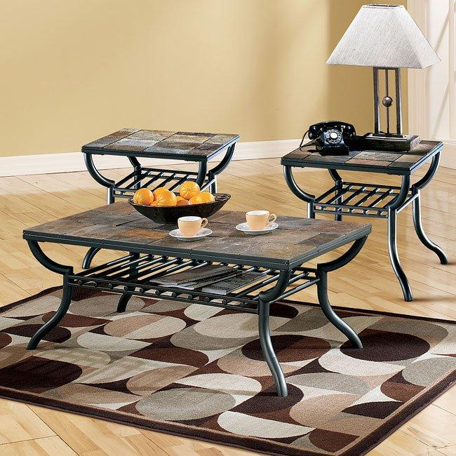 Antigo Sofa Table: Antigo Rectangular Occasional Table Set By Signature