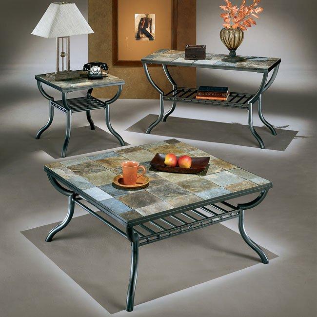 Antigo Sofa Table: Antigo Square Occasional Table Set By Signature Design By