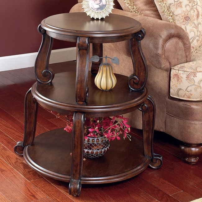 Brookfield Drum Table By Signature Design By Ashley 2