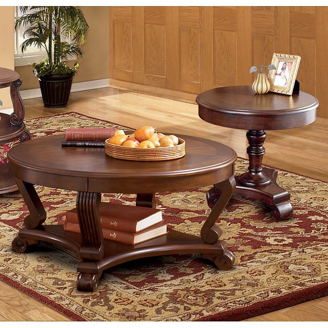 Brookfield Occasional Table Set Signature Design By Ashley