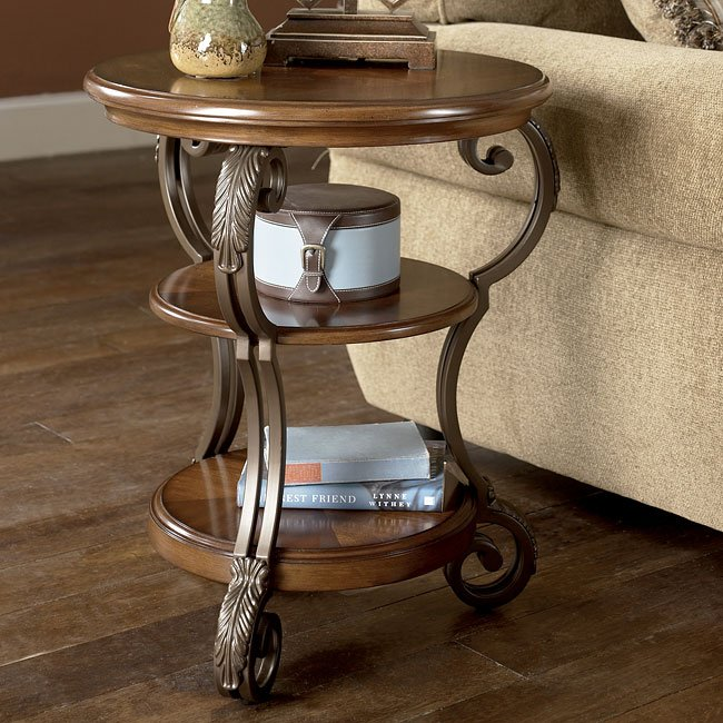 T517 0 Ashley Furniture Nestor: Nestor Chairside End Table Signature Design By Ashley